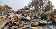 ৬ মৌজার সভায় সিদ্ধান্ত হয় নোয়াগাঁওয়ে অগ্নিসংযোগের