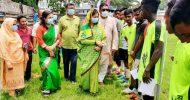 হবিগঞ্জে বঙ্গবন্ধু গোল্ডকাপ ফুটবল টুর্নামেন্ট উদ্বোধন