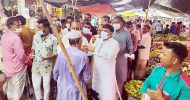 ধর্মপাশা ও মধ্যনগরে রনজিত সরকারের স্বাস্থ্য সুরক্ষা সামগ্রী বিতরণ
