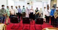 শোকাবহ আগস্টে কালোব্যাজ ধারণ বঙ্গবন্ধু পরিষদ ও বাংলাদেশ ব্যাংক সিবিএ'র