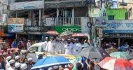 কুরআন অবমাননাকারীদের শাস্তির দাবীতে সুনামগঞ্জে প্রতিবাদ সভা